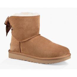 UGG Chesnut Customizable Bailey Bow Mini Womens Boots 1100212