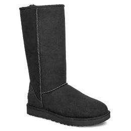 UGG Women's Black Classic Tall II Tasman Braid Boot 1110698