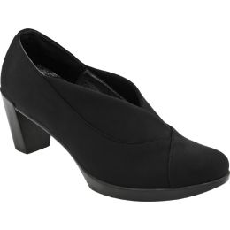 14029-123 Lucente Black Stretch Fabric Comfort Naot Womens Shoes