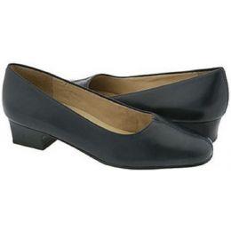 3235-400 Doris Navy Leather Comfort Pump Trotters Womens Shoes