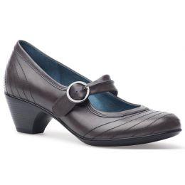 3240-940294 FERNANDA Grey Antiqued Calf Leather Dansko Womens Shoes