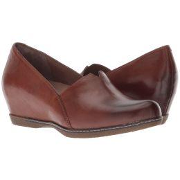 Dansko Chestnut Burnished Liliana Womens Comfort Slip On Shoes 6901-691200