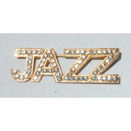 J-24 Rhinestone JAZZ  Pin