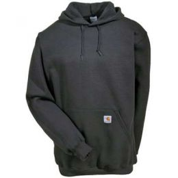 K121CHH Men's Grey Midweight Carhartt Hooded Sweatshirt