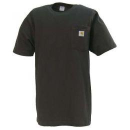 K87 Black Short Sleeve Mens Carhartt Work Tee-Shirt