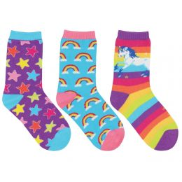 SockSmiths Kids Sparkle Party - 3-Pack Socks KC70094