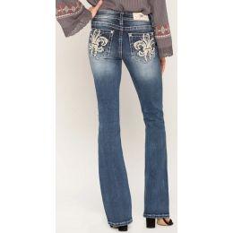 MIss Me Medium Wash Women's Pur Love Bootcut Jeans M3471B