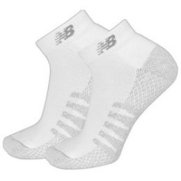 New Balance Mens Low Cut Socks with Coolmax 2 Pair N7020-230-2