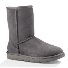1016223 Grey Classic II Womens UGG Short Boots