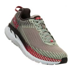 Hoka Alloy Metal Clifton 5 Womens Comfort Running Shoes 1093756
