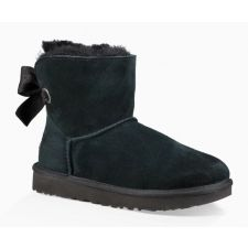 UGG Black Customizable Bailey Bow Mini Womens Boots 1100212