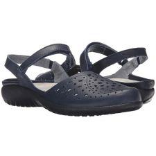 11124-081 Ink Blue ARATAKI Slip on Adjustable Strap Women's Noat Shoes