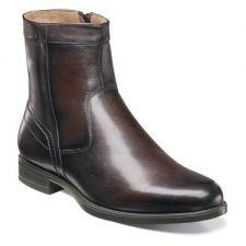 Florsheim Midtown Plain Toe Boot Brown Leather Mens Dress 12140-200