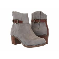 Dansko Grey Nubuck Hartley Womens Comfort Short Boots 9211-947814