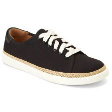 Vionic Black Black Hattie Womens Comfort Sneaker HATTIE