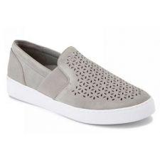 Vionic Light Grey Kani Slip-On Womens Comfort Sneaker KANI