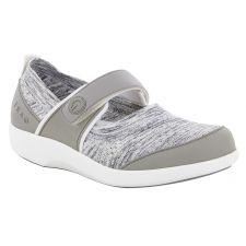 Alegria Traq Soft Grey Qutie Womens Comfort Shoes QUT-5058