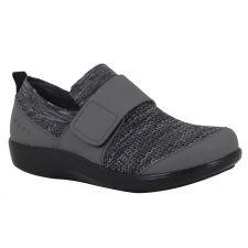 Alegria Traq Charcoal Qwik Womens Comfort Shoes QWIK