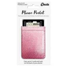 IDecoz Rose Gold Leather Phone Pocket RG427C