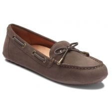 Vionic Greige Virginia Womens Comfort Moccasin VIRGINIA-GRG