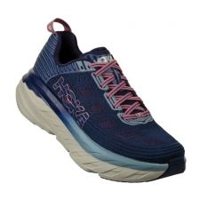 Hoka Marlin/Blue Ribbon Bondi 6 Womens Comfort Running Shoes 1019270