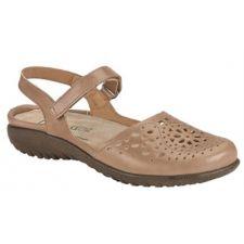 Noat Arizona Tan Leather Arataki Womens Adjustable Strap Sandals 11124