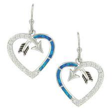 Montana Silversmith Follow Your Arrow Opal Heart Earrings ER3949