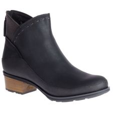 Chaco Black Cataluna Mid Womens Ankle Boots J106800