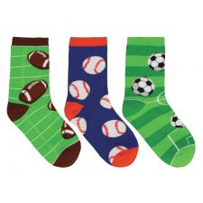 SockSmith Kids Good Sports 3 Pack Socks KC70814