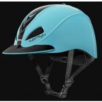 Troxel Turquoise Racer Fallon Taylor Riding Helmet 04-404