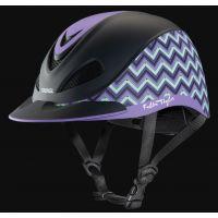 Troxel Lavender Chevron Fallon Taylor Riding Helmet 04-406