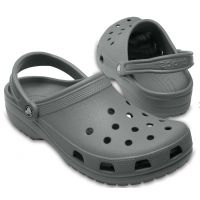 Crocs Slate Grey Classic Mens Clogs 10001-0DA