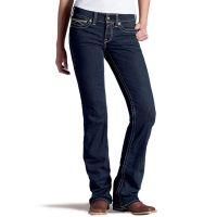 10015101 Ariat Women's Mid-Rise Boot Cut Riding Jeans