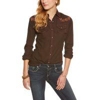 10016059 CLAIRE Long Sleeve Snap Women's Ariat Shirt
