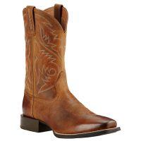 10018702 Sport Herdsman Square Toe Ariat Mens Western Cowboy Boots