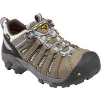 1008823 FLINT LOW Grey Steel Toe Keen Womens Work Shoes