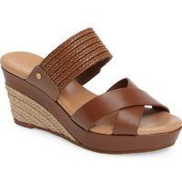 1015100 Tamarind Leather Adriana UGG Womens Sandals