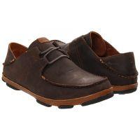 Olukai Ohana Lace Toffe Leather Mens Casual 10171-6333