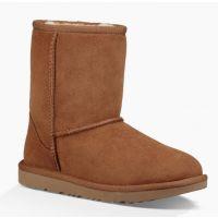 UGG Classic II Kids Chestnut Short Boots 1017703K-CHE