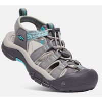 Keen Steel Grey/Blue Turquoise Womens Newport Hydro Sandals 1018834