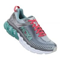 Hoka Steel/Gray Metal Arahi 2 Womens Comfort Running Shoes 1019276