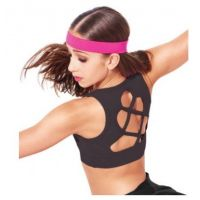 Capezio Viera Girls Crop Top 10702C