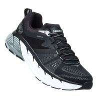 Hoka Black/Wrought Iron Gaviota 2 Mens Running Comfort Shoes 1099717