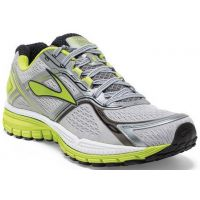 Brooks Ghost 8 Gry/ Lime Mens Running 110198-029