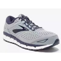 Brooks Grey/Navy/White Beast Mens Comfort Running Shoes 110282-015