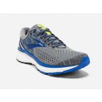 Brooks Grey/Blue Ghost 11 Mens Road Running Shoes 110288-006
