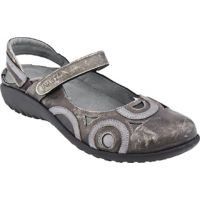 11061-SG6 Rongo Metal/Mirror Leather Mary Jane Comfort Womens Shoes