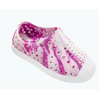 Native Blossom Pink/Shell White/Marbled Jefferson Childrens Slip On Shoes 13100110-8639