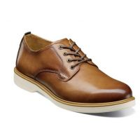 Florsheim Cognac Supacush Plain Toe Mens Oxford Shoes 13317-221