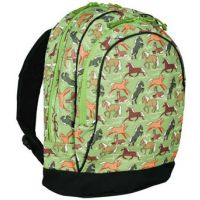 14059/14066 Horses in Green Backpack